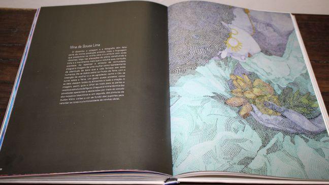 Livro da II Bienal das Artes, 2018, p. 188-189. Produzido pelo Serviço Social do Comércio, do Distrito Federal.