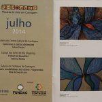 Catálogo da exposição Inelutáveis Modalidades do Visível. Projeto TUDOAVER. Produzido pelo Centro Cultural da Prefeitura de Contagem, MG. [2014]